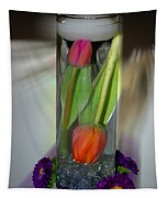 Floral Table Piece Tapestry