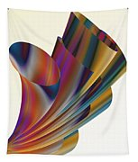 Floral Trumpets Tapestry