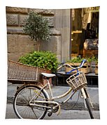 Florence Bicycle  Tapestry