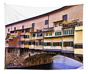 Florence Italy Ponte Vecchio Tapestry