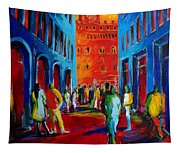 Florence Sunset Tapestry