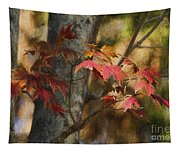 Florida Autumn Leaves Tapestry