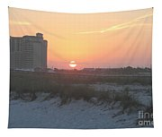 Florida Beach Sunset Tapestry