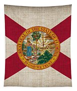 Florida State Flag Tapestry by Pixel Chimp