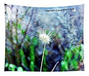 Flower As A  Painting Tapestry