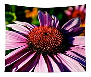 Flower Bed Close Up Tapestry