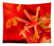 Flower Close Up I Tapestry