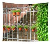 Flower Gates Tapestry