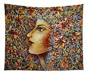 Flower Goddess. Tapestry