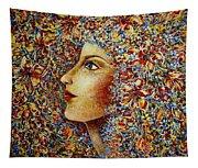 Flower Goddess. Tapestry