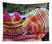 Flower Hmong Baby 05 Tapestry
