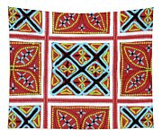 Flower Hmong Embroidery 01 Tapestry