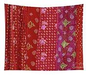 Flower Hmong Velvet Tapestry