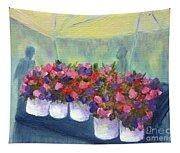 Flower Market Tapestry