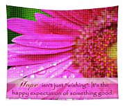 Flower Of Hope Tapestry