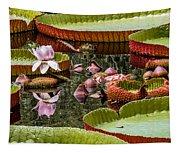 Flower Of Victoria Cruziana Tapestry