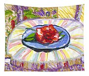 Flower On Chair Tapestry