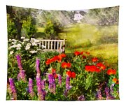 Flower - Poppy - Piece Of Heaven Tapestry
