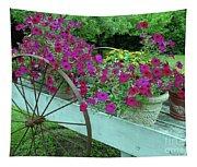 Flower Pot 2 Tapestry