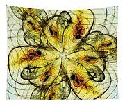 Flower Sketch Tapestry