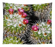 Flowering Cactus Tapestry