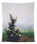 Flowering Chrysanthemum With Worker Tapestry