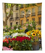 Flowers At Market Tapestry