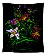Flowers In The Garden Tapestry