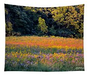 Flowers In The Meadow Tapestry