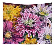 Flowers Of Love Tapestry