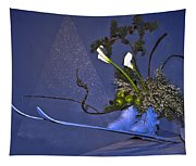 Flowers On Skis Tapestry