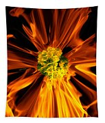 Flowery Flames Tapestry