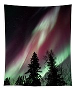 Flowing Colours Tapestry by Priska Wettstein