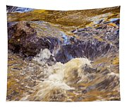 Flowing River Rapids Tapestry