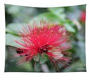 Fluffy Pink Flower Tapestry