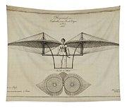 Flugmashine Patent 1807 Tapestry