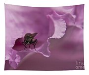 Fly On A Rhododendron Tapestry