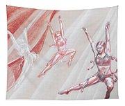 Flying Dancers  Tapestry