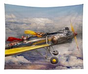Flying Pig - Plane - The Joy Ride Tapestry
