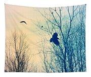Flying Retro Tapestry
