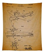 Flying Submarine Patent Tapestry