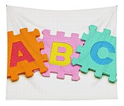 Foam Alphabet Shapes Tapestry