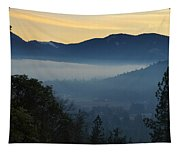 Fog Invades The Evans Valley Tapestry
