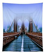 Fog Over The Brooklyn Tapestry by Az Jackson