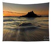 Fogarty Creek Sunset Tapestry
