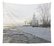 Foggy Marblehead Tapestry
