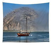 Foggy Morrow Bay Tapestry