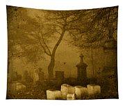 Foggy Necropolis Tapestry