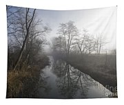 Foggy River Tapestry