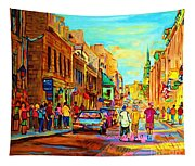 Follow The Yellow Brick Road Tapestry